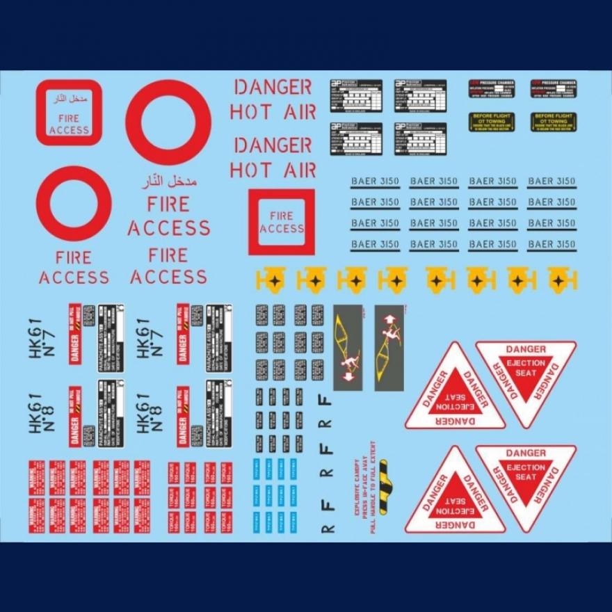 Bae Hawk Royal Saudi Air Force Camouflage Basic Stencils